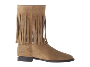 Burberry Sandstone Suede Boots