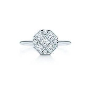 Tiffany & Co. Tiffany & Co. Mosaic Ring Platinum with Diamond