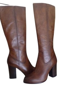 Frye Tall Leather Booot Tan Boots