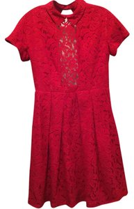Carven Lace Preppy Dress