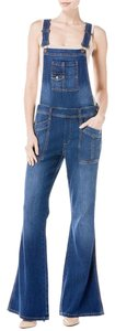 Level 99 Trouser/Wide Leg Jeans-Medium Wash
