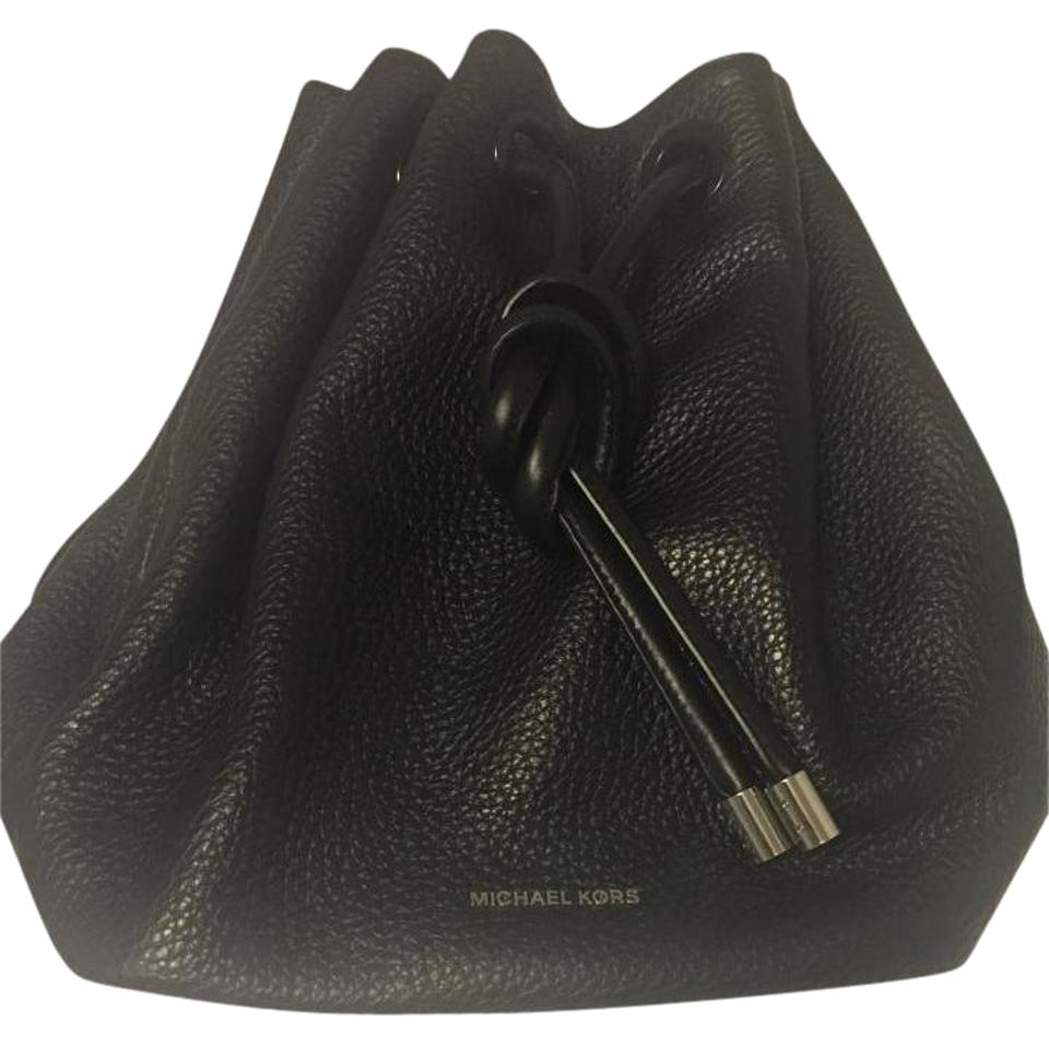 4ddae9ea4bdd Michael Kors Dalia Black Leather Backpack - Tradesy