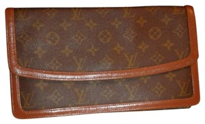 Louis Vuitton Vintage Monogram Gm Wristlet Clutch