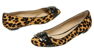 Via Spiga Black/Brown Flats