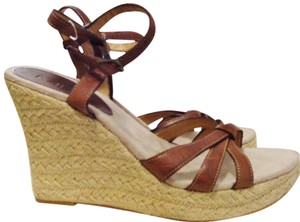 MIA Leather Sandals Wedges