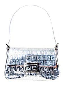 Fendi Metallic Mini Mama Shoulder Bag