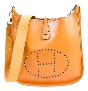 Hermès Evelyne Pm Tan Cross Body Bag