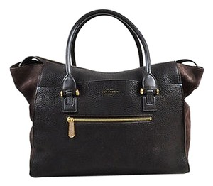 Smythson Shoppers Tote in Brown