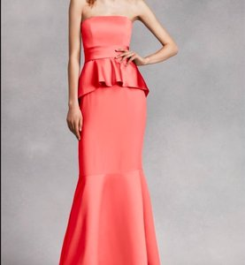 Vera Wang Bridesmaid Gown Wedding Mermaid Dress