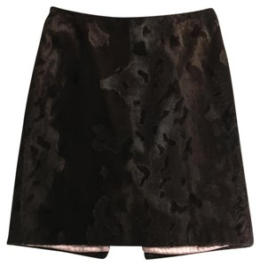 Milly of New York Skirt brown and pink