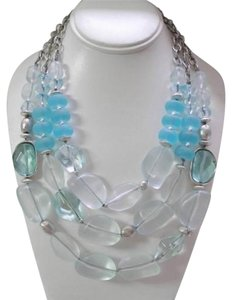 Chico's chico's smoked glass necklace