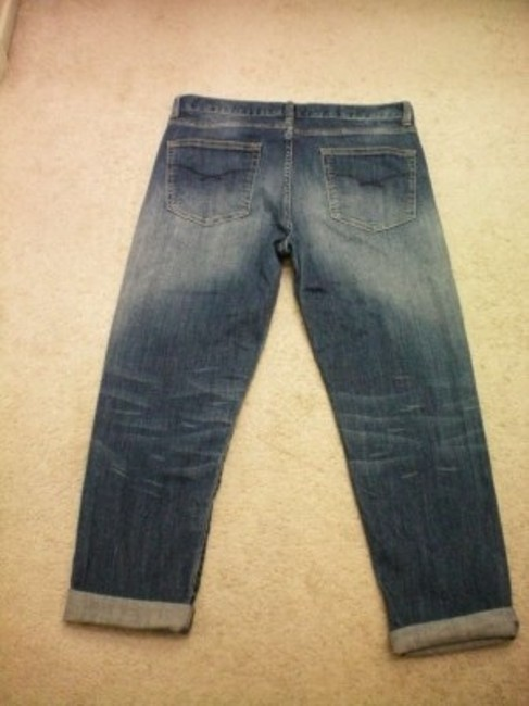 Gap Boyfriend Cut Jeans-Medium Wash