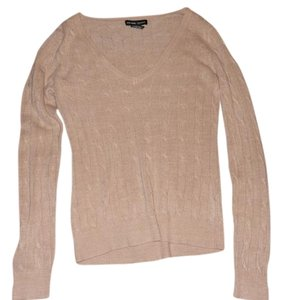 New York & Company V-neck And Cable Knit Sweater