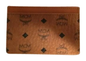 MCM MCM CREDIT CARD / WALLET in cognac