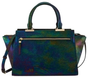 Henri Bendel Satchel in Black Iridescent