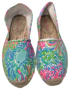 Lilly Pulitzer Seaspray Blue Flats