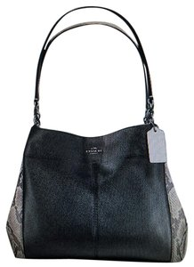 Coach Edie 36551 Phoebe Trim Shoulder Bag