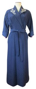 Other Vintage 1940s Robe Wrap Lounging Gown Old Hollywood Icon
