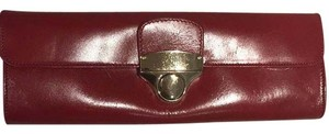 Hobo International Brick Red Clutch