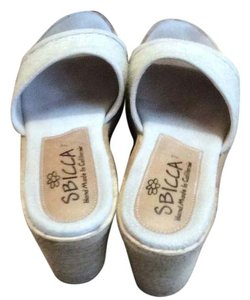 Sbicca Natural Mules