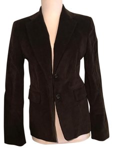 Banana Republic Velvet Brown Blazer
