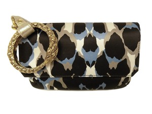 Roberto Cavalli Clutch New Handbag Wristlet in Multicolor