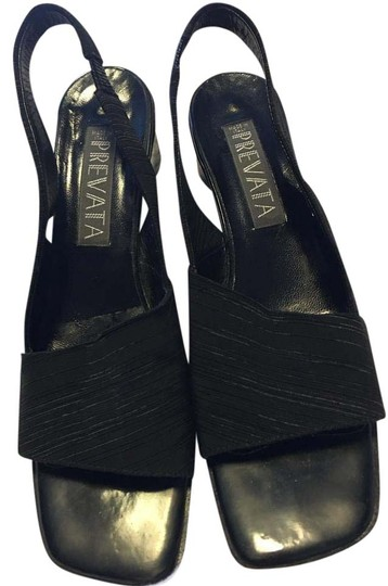 Preload https://img-static.tradesy.com/item/20323363/prevata-black-ribbed-fabric-open-toe-patent-leather-aa-wedges-size-us-8-narrow-aa-n-0-1-540-540.jpg