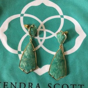 Kendra Scott Kendra Scott Carey Drop Earrings in Amazonite