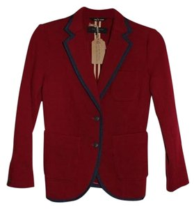 Rag & Bone Red Blazer