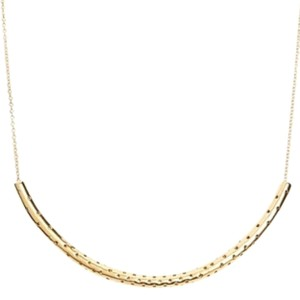 Marc by Marc Jacobs New Perf-fection Perforated Tube Necklace, Champagne Crystals M0004826