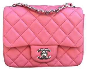 Chanel Classic Handbag Mini Cross Body Bag
