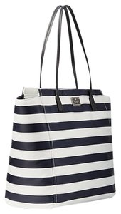 Kate Spade Tote in Blue and Cream