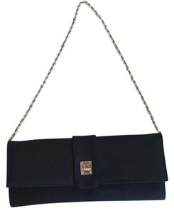 Gianfranco Ferre Prada Chanel Fendi Black Clutch
