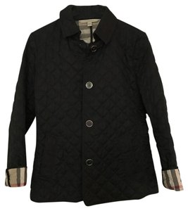 Burberry Brit Black Quilted Pea Coat Size 8 (M) - Tradesy : quilted pea coat - Adamdwight.com