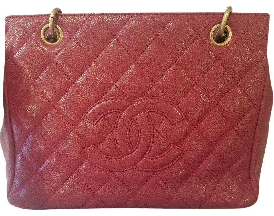 a8e17dab6705ae Chanel Timeless Rare Burgundy Caviar Petite Ghw Red Leather Tote ...