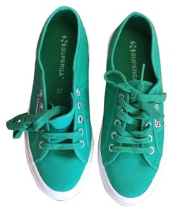 Superga Green Athletic