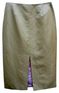 Zac Posen Skirt Gold