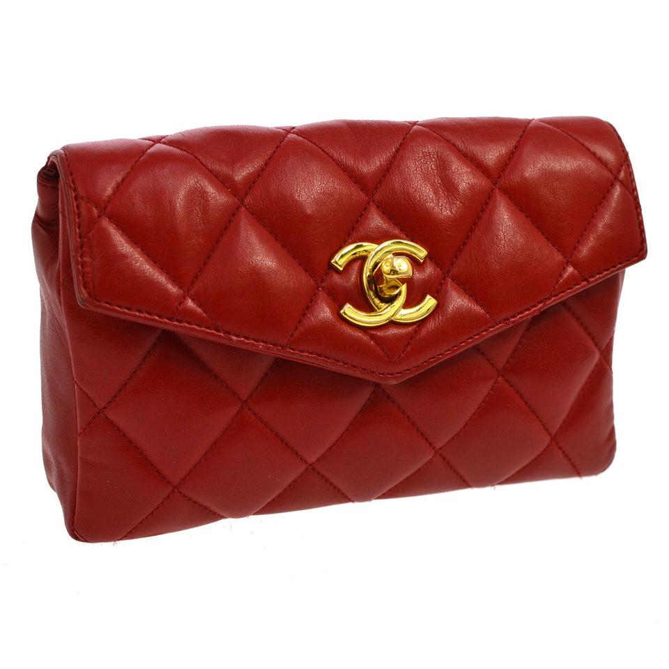 3bd2dce3ceb2 Chanel Chanel Red Belt Bag Fanny Pack Image 0 ...