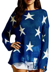 Wildfox Distressed Bohemian Festival Sweater