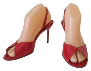 Manolo Blahnik Red patent Pumps