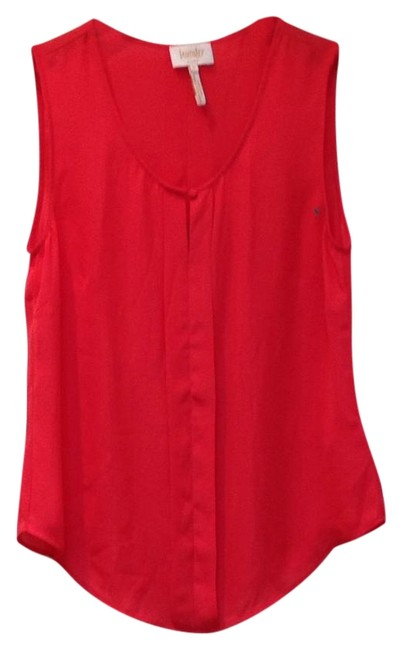 Preload https://img-static.tradesy.com/item/20324306/laundry-by-shelli-segal-coral-pleated-sleeveless-blouse-size-8-m-0-1-650-650.jpg