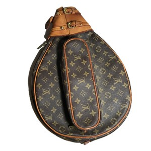 Louis Vuitton Tennis Athletic French Company The French Company Rare Brown Travel Bag