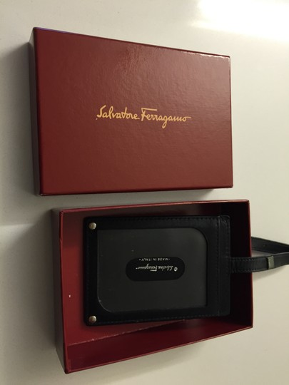 Salvatore Ferragamo Leather Luggage Tote