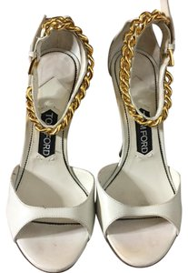 Tom Ford Ivory Wedges