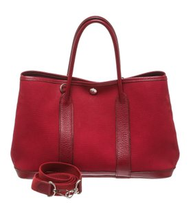 Hermès Tote in Burgundy