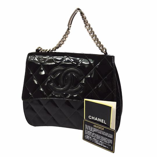 Preload https://item4.tradesy.com/images/chanel-classic-flap-edition-black-patent-leather-satchel-2032443-0-2.jpg?width=440&height=440