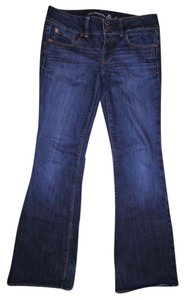American Eagle Outfitters Artist Low-rise Boot Cut Jeans-Medium Wash