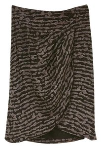 Anthropologie Skirt Black, Brown, White