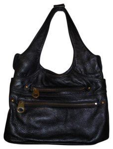 Marc Jacobs Leather Hcc Tote in black