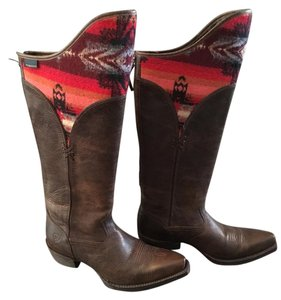 Ariat Brown, red Boots